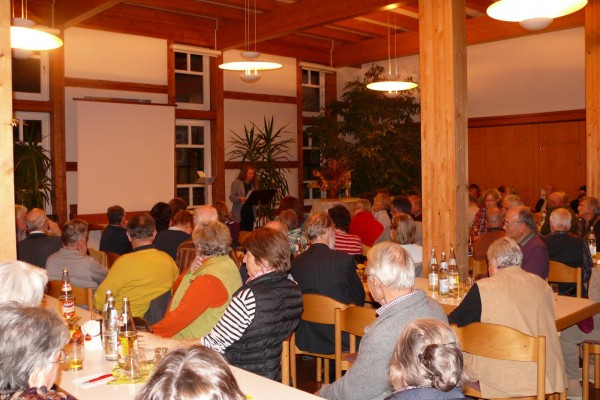 Vortragsabend in Eltingen