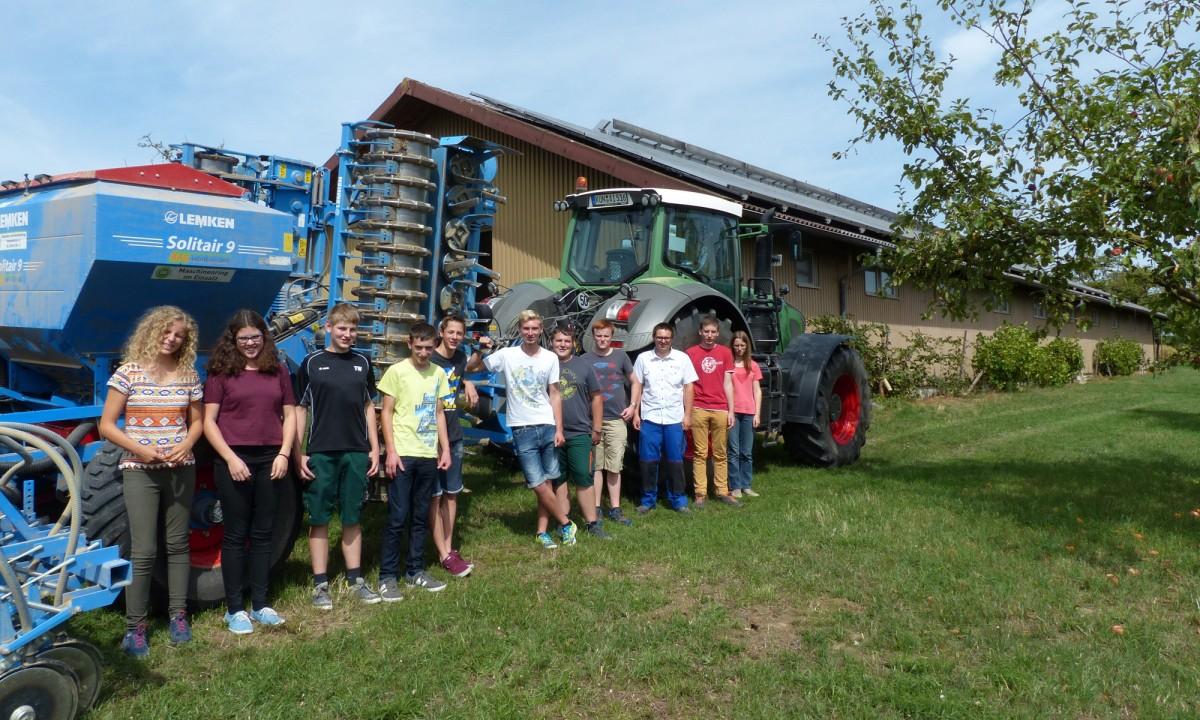 Jugendliche in der Landwirtschaft