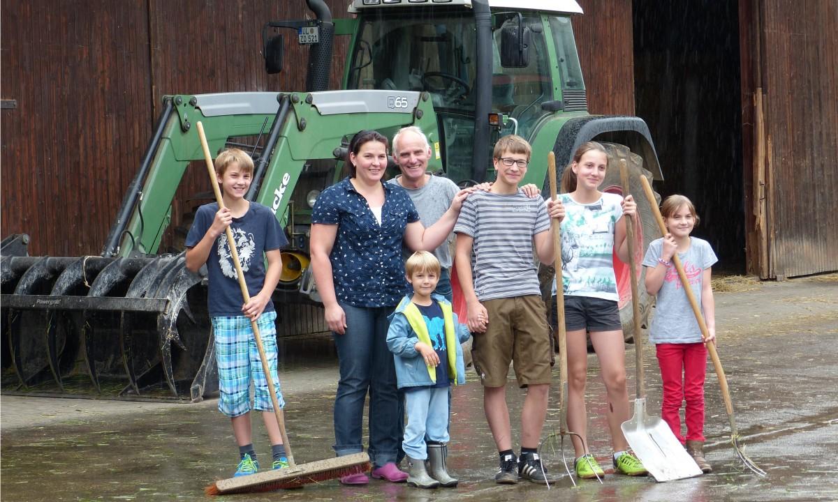 Landleben-live Landwirtsfamilien